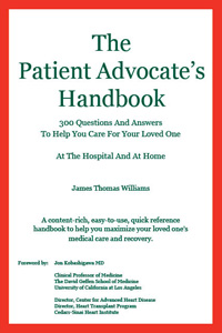 Front cover of The Patient Advocate's Handbook